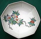 Kakiemon Octagonal Bowl