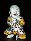 18th Century French Imari Style Model of a Boy
