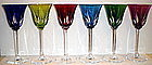 St Louis Crystal - Cerdagne Hock Stems (Set of Six)