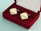 Modernist Silver-Gilt Cufflinks