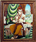 Reverse Glass Painting from India