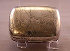 Antique Gorham Sterling Silver Soap Box 19th C.