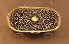 Vintage Indian Silver Tobacco, Betel Box.