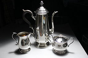 Redlich & Company Sterling Silver Tea Set.