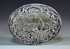 Antique European Silver Box.