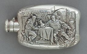 Fine Wallace Sterling Silver Flask