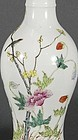 Fine Antique Chinese Enameled Porcelain Vase.