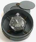 Hamilton Model 23 Navigator's chronograph watch in case