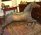 Antique Armitage-Herschell carousel horse