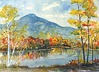 Frederick J. Wilder painting - Mt. Ascutney, Vermont