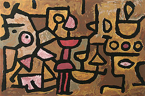 Paul Klee screen print - Musique Diurne, Edition Art