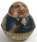 Red Indian Roly Poly tobacco tin - Store keeper