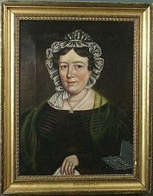 Hannah Maria Hudson portrait of Mrs. S.A. Butterfield