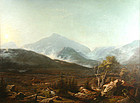 James Hope painting of Vermont valley landscape