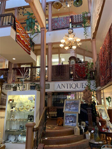 American and European antiques on 3 floors