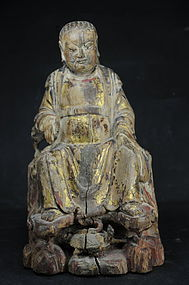 God of the North Statue, China, Ming Dyn.