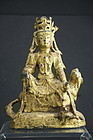 Bronze Statue of Kuan Yin, China, Ming Dynasty