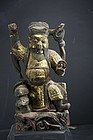 Statue of God Chao Kung Ming, China, 18th C.