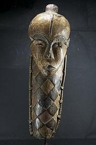 """Fine """"Kiniyo Muyombo"""" Mask, Pende Peoples"""