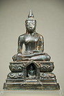 Statue of Buddha, Burma, Early 18th C.