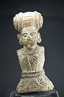 Bust of A Dignitary, India, 18th C.
