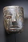Highly Unusual Himalayan Mask, 19th C.