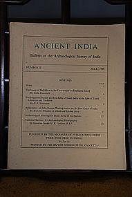 Ancient India Bulletin, No 2, July 1946