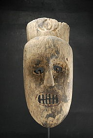 Important and Rare Mask, South-East Asia, Laos