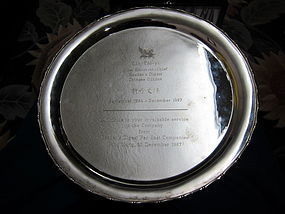 Chinese Silver Plate for Daughter of ������ (422 gram)