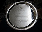Chinese Silver Plate for Daughter of ÁÖÓïÌà (422 gram)