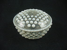 Moonstone Round Puff Box