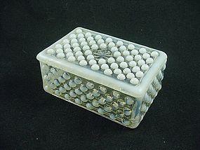 Moonstone Cigarette Box & Cover