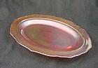 Normandie Iridescent Oval Platter