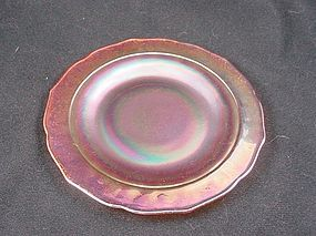 Normandie Iridescent Bread & Butter Plate - 6 Inch