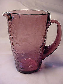 Morgantown Crinkle Tijuana Pitcher - Amethyst