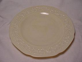 Indiana Custard Dinner Plate