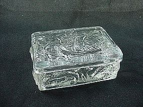 Consolidated Glass Santa Maria Covered Box