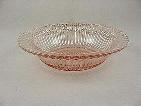 Queen Mary Pink 6 Inch Rimmed Cereal Bowl