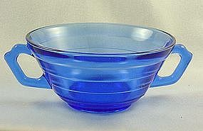 Moderntone Cobalt Cream Soup Bowl