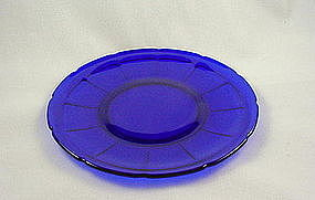 Victory Luncheon Plate - Cobalt