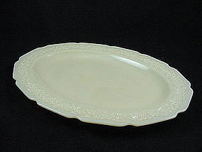Indiana Custard Serving Platter