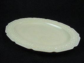 Indiana Custard Serving Platter