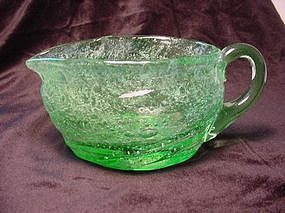 Consolidated Catalonian Emerald Creamer