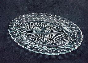 Bubble Sapphire Blue Serving Platter