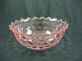 Cube Serving Bowl - Pink