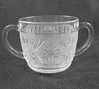 Sandwich Sugar Bowl - Crystal