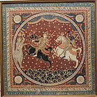 INDIAN PAINTING OLD ORISSA PURI IMAGE ON CLOTH