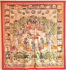 INDIAN PICHHAVI PAINTING 19TH CENTURY