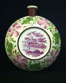 Staffordshire Flask, English c,1820