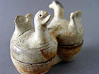 Extremely rare western Jin Yue ware ( Xicun ) bird box